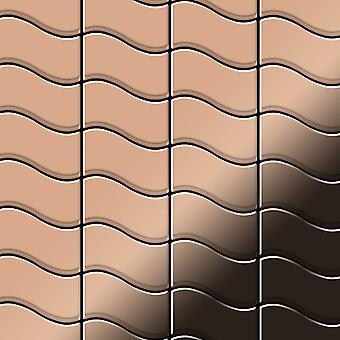 Metall mosaik koppar legering Flux-CM