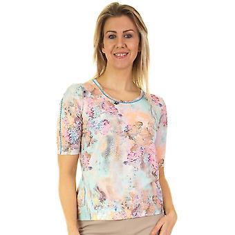 LUCIA T Shirt 42 413356 Aqua