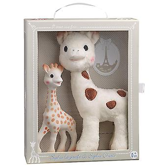 Sophie the Giraffe and Sophie Cherie Set