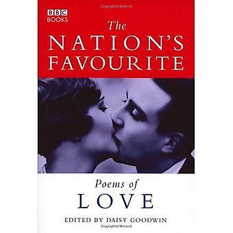 Nationens favorit kärleksdikter (poesi)