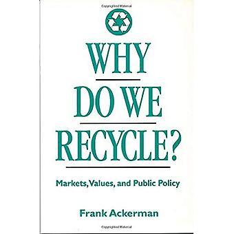 Perché noi ricicliamo?: mercati, valori e politiche pubbliche