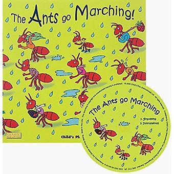 Mieren gaan marcheren