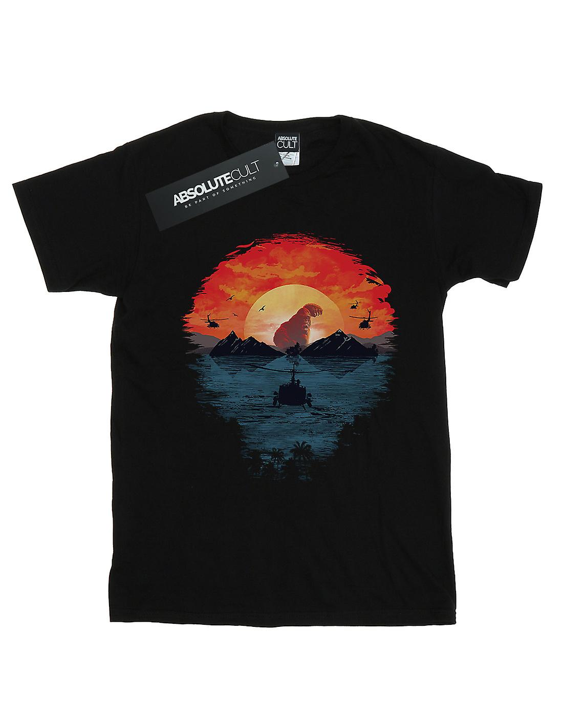 Dan Dingeroz Women's Skull Island Boyfriend Fit T-Shirt