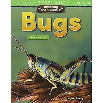 Fantastiska djur: Buggar: hoppa över räknar (dagis) (matematik läsare)