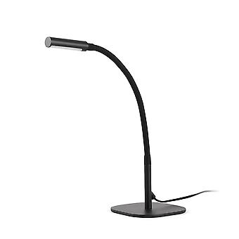 Faro - Serp svart LED skrivbord lampa FARO50065