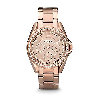 Fossil Analog Women with metal plated stainless steel ES2811