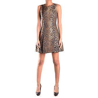Michael Kors Ezbc063026 Women's Leopard Polyester Dress