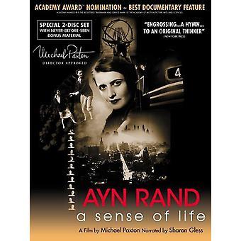 Ayn Rand-Sense of Life [DVD] USA import