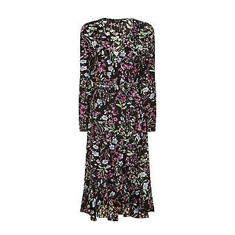 Girls On Film Womens/Mesdames Floral robe Midi