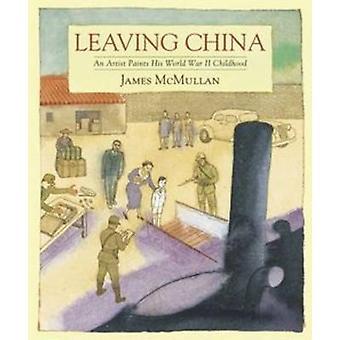 Leaving Kiina-taiteilija maalit hänen World War II lapsuus James M