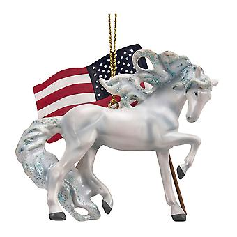 Painted Ponies Unconquered Ornament