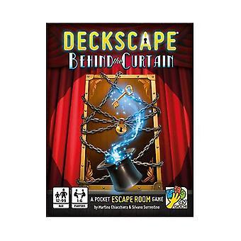 Deckscape - Behind the Curtain Card Game