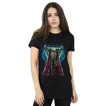 Marvel Women's Spider-man ver van huis Mysterio magische vriendje fit T-shirt