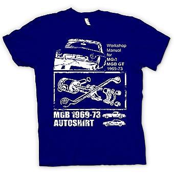 Kids t-shirt-MGB GT 69-73 - autos