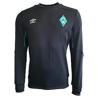 2019-2020 Werder Bremen Umbro svette topp (svart)