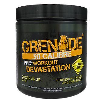 Grenade 50 Calibre Pre Workout Devastation Supplement