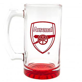 Arsenal Stein Glass Tankard CC