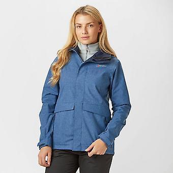 New Berghaus Women's Dalemaster Waterproof Jacket Navy