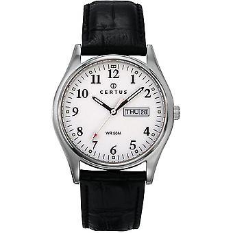 Certus couro REB-610464 - relógio homem