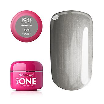 Base one-Metallic-Shadow line 5g UV gel