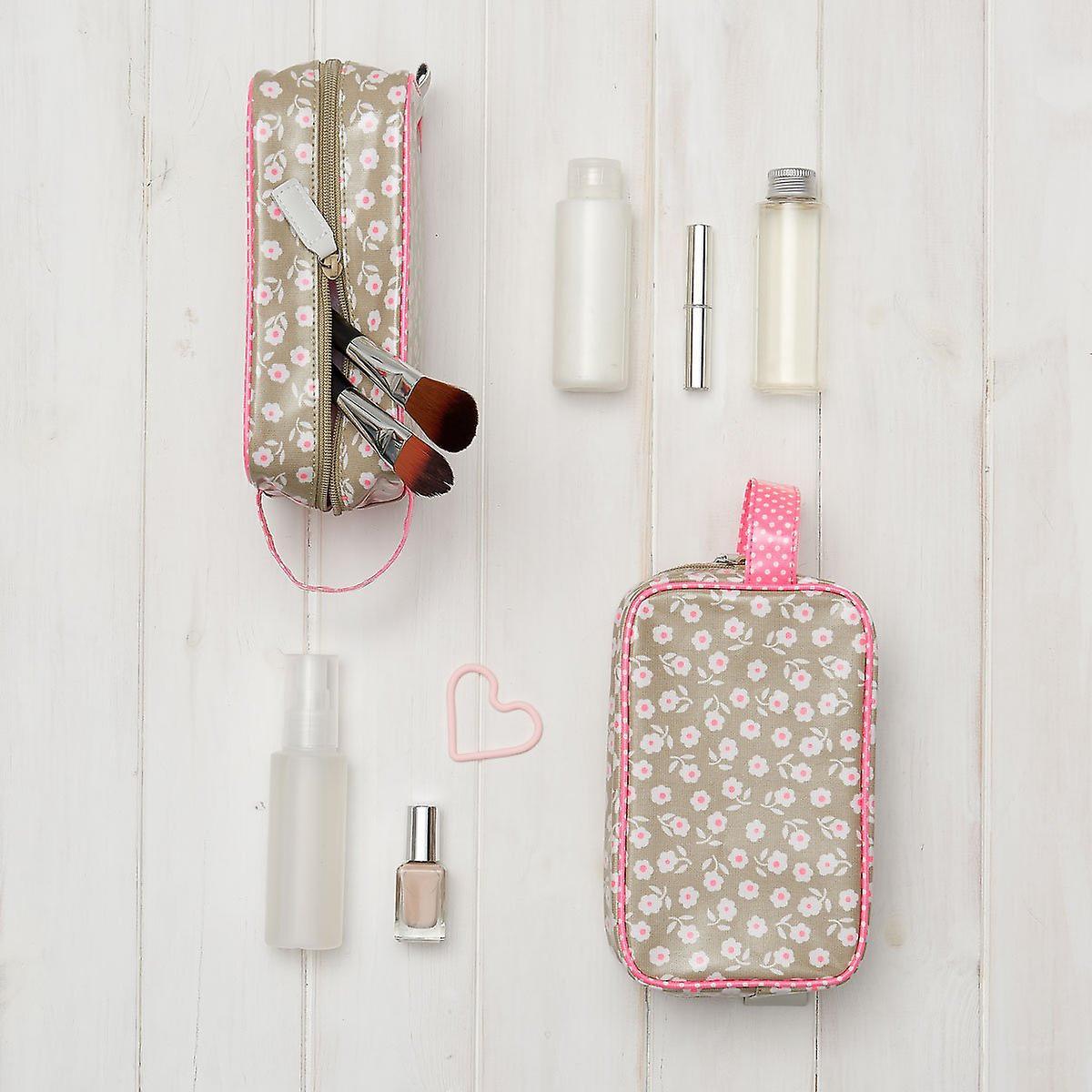 'victoria green' cosmetics pouch - daisy sage