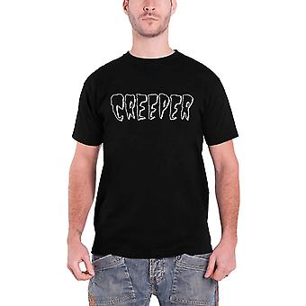 Creeper T Shirt Death Card band logo new Official Mens Black