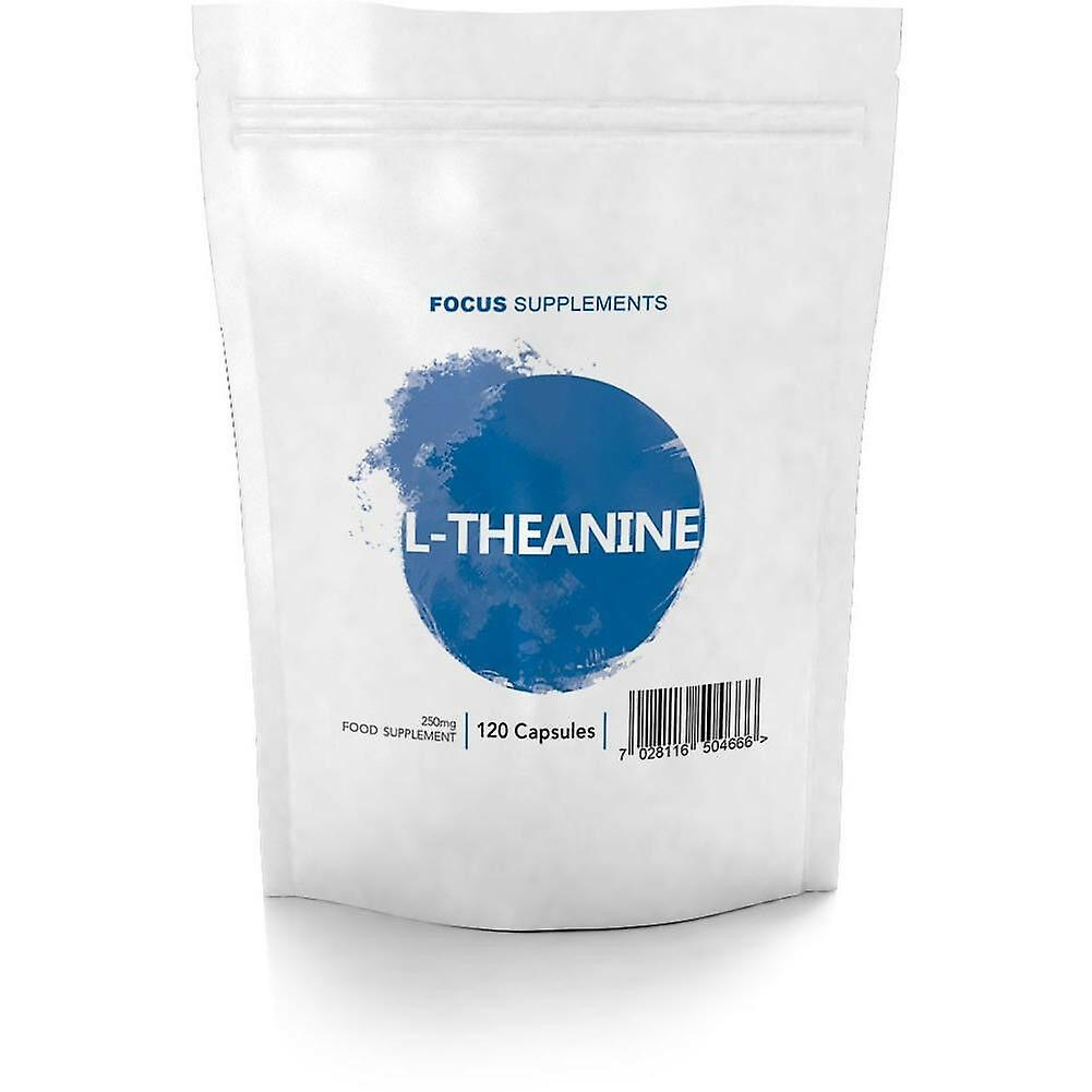 Focus Supplements L-Theanine (250mg) Capsules