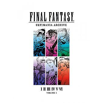 Final Fantasy Ultimania Volumen 1 Libro
