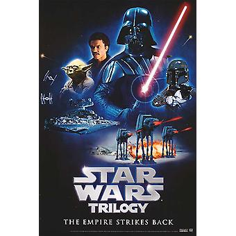Star Wars Trilogy (The Empire Strikes Back Video) (1980) Original Video Poster