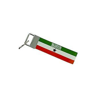 Porte Cles Clefs Voiture Moto Bande Tissu Drapeau Maison Tuning Somaliland
