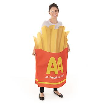 Salty French Fries Adult Costume