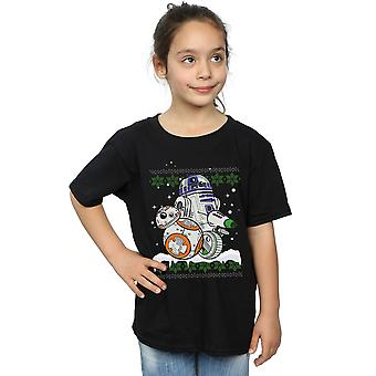 Star Wars Girls The Rise Of Skywalker Rolling This Christmas T-Shirt