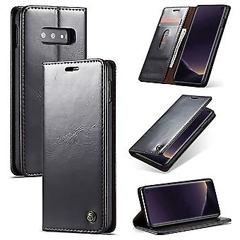 Case For Samsung Galaxy S10th Black Card Holder