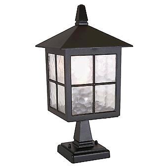 Elstead Lighting Winchester IP43 External Pedestal Lantern