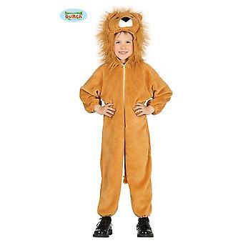 Lion lion puku lasten Carnival Carnival eläinten jumpsuit Safari Afrikka savanni