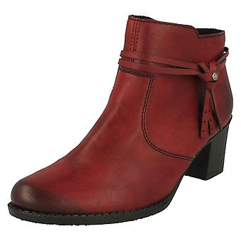 Ladies Rieker Heeled Ankle Boots L7664