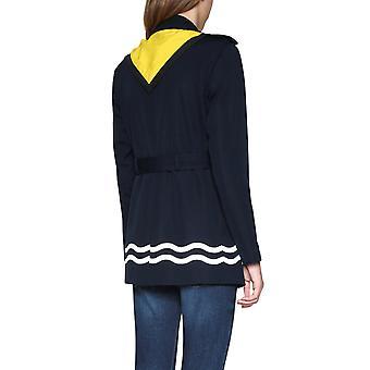 Desigual Women's Morgane Náutico Mac Coat e Cachecol