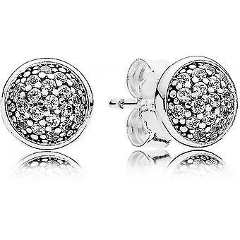 Boucles d'oreilles Pandora 290726CZ - Boucles d'oreilles Gouttelettes Eblouissantes Femme