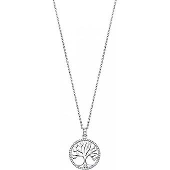 Necklace and pendant Lotus Silver TREE OF LIFE LP1779-1-1 - necklace and pendant TREE OF LIFE money woman
