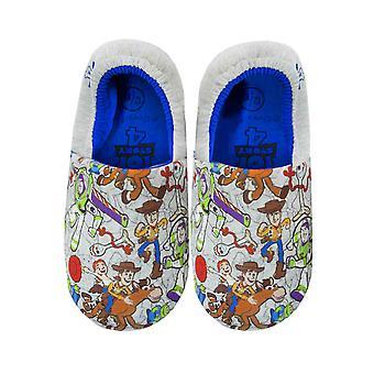 Toy Story 4 All Over Print Kid's Zapatillas de casa multicolor