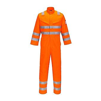 Portwest araflame hi vis multi workwear coverall af91