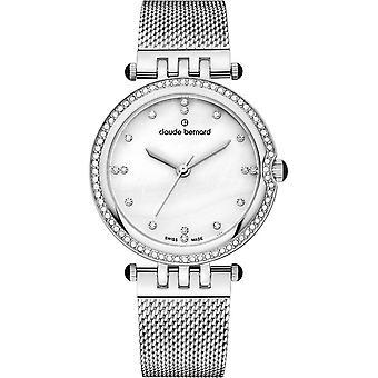 كلود برنارد -- ساعة اليد -- النساء -- اللباس الكوارتز -- 20085 3M NAPN