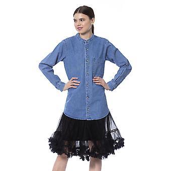 Blauw shirt Silvian Heach Vrouwen