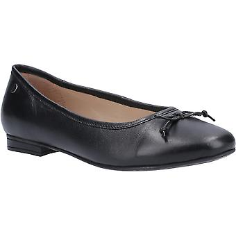 Hush Puppies Womens Naomi Leather Slip On Ballet Shoes