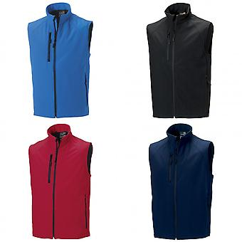 Russell Mens 3 laag Soft Shell jas Gilet