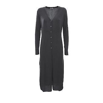 Hemisphere 1924635947 Women's Grey Wool Cardigan