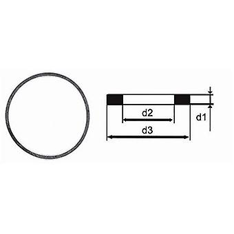 Rolex generic bezel and case back flat gasket 0.60mm x 24.50mm x 25.40mm (rolex 29.240.76)