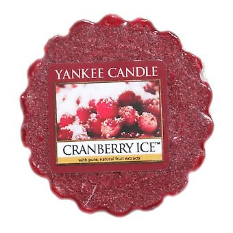 Yankee Candle Wax Tart Melt Cranberry Ice