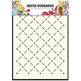 Dutch Doobadoo Dutch Mask Art stencil stripes and dots A5 470.715.041