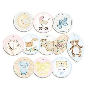 Piatek13 - Decorative tags Baby Joy 01 P13-BAB-21